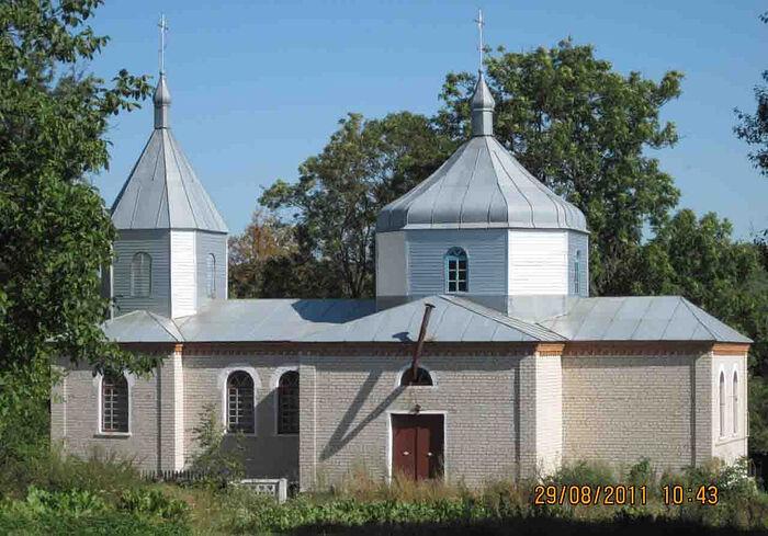 Михайловский храм с. Галузинцы