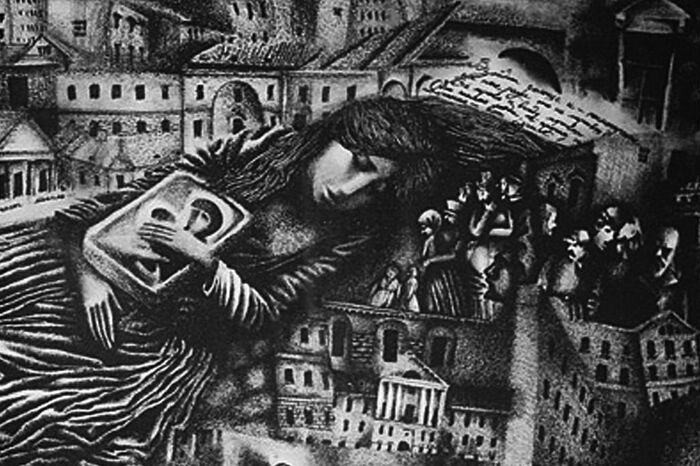 О. Маркина. Иллюстрация к рассказу Достоевского «Кроткая»