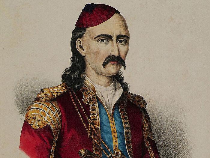 Theodoros Kolokotronis, hero of the Greek War of Independence. Photo: wikimedia.org