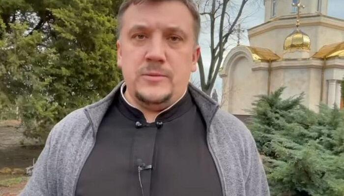 Ο Αρχιδιάκονος Ανδρέας Παλτσούκ. Πηγή: seraphim.com.ua