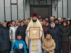 Община Украинской Православной Церкви в селе Михальча отметила два года молитвенного стояния за свой храм