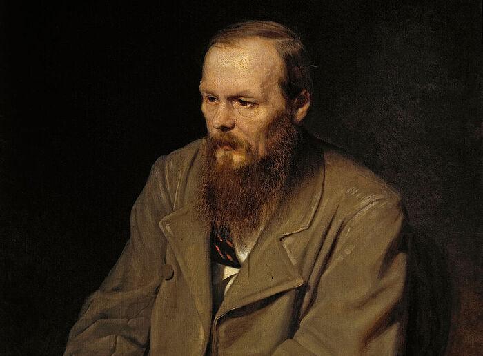 Feodor Mikhailovich Dostoevsky. Portrait by Vasili Perov, 1872. Photo: wikimedia.org