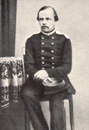 Dostoevsky as a military engineer. Photo: wikimedia.org