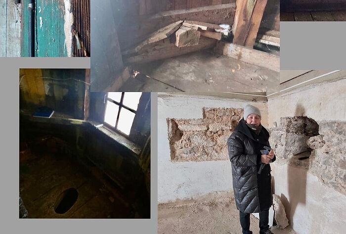 Специалисты исследуют состояние Петровской башни