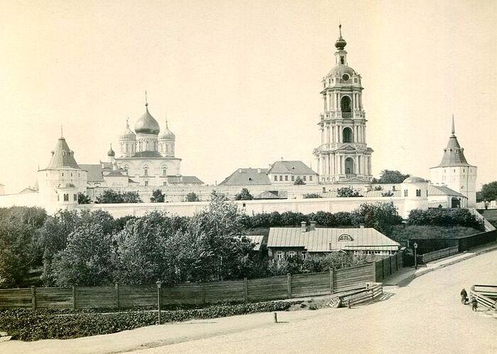 Новоспасский монастырь. 1900–1910 гг.
