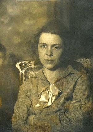 М.Н. Соколова. 1943 г.
