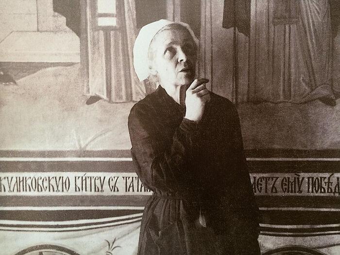Монахиня Иулиания в Серапионовой палатке