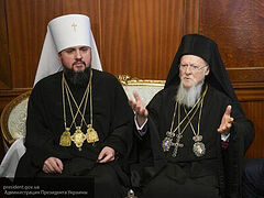 Ukrainian citizens appeal to Pat. Bartholomew: Stop inciting religious enmity, find a solution with all Local Churches