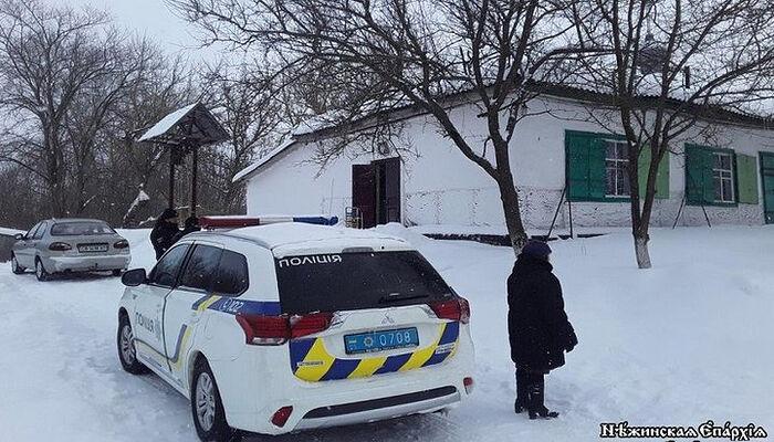 В Черниговской области Украины от действий вандалов пострадал храм Украинской Православной Церкви
