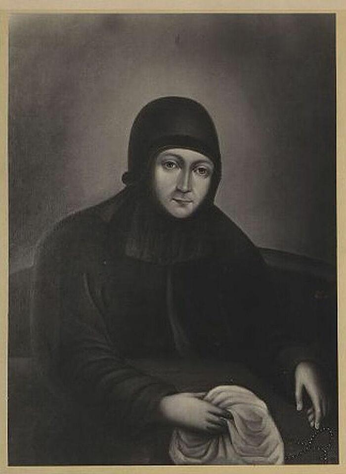 Досифея (в миру Августа Алексеевна Тараканова). Фотография К.А. Фишера. 1900-е гг.