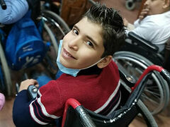 Russian Church gives wheelchairs and gifts to disabled children in Damascus