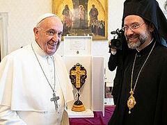 Ιεράρχης του Φαναρίου: οι Ορθόδοξοι δεν έχουν πρόβλημα να αναγνωρίσουν το πρωτείο της Ρώμης