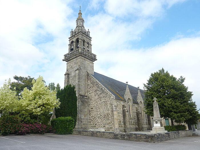 Церковь Св. Тейло в Ландело, Бретань