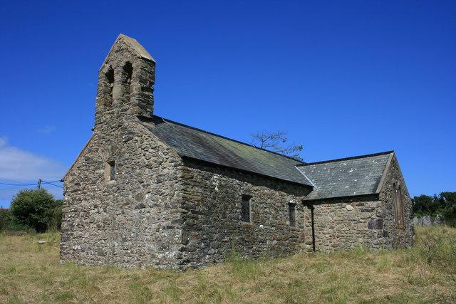 Церковь Св. Тейло в Лланделой, Пембрукшир, Уэльс