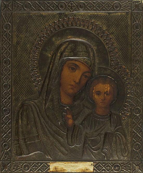 Εικονίτσα της Παναγίας