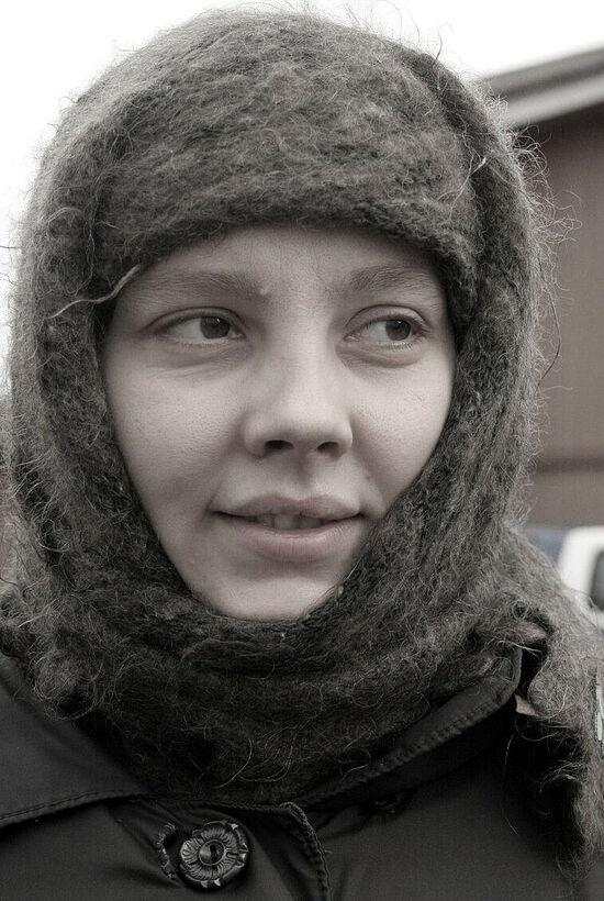 Μια αδελφή της μονής της εικόνας της Παναγίας «Καζάνσκαγια» και του Οσίου Τρύφωνα του Περμ