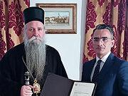 Черногория: епископ Иоанникий награжден за храбрую защиту святынь