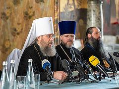 Представители захваченных храмов Украинской Православной Церкви обратились к руководству страны