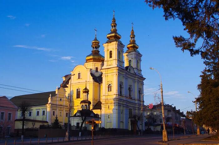 Винницкий кафедральный собор ныне у раскольников