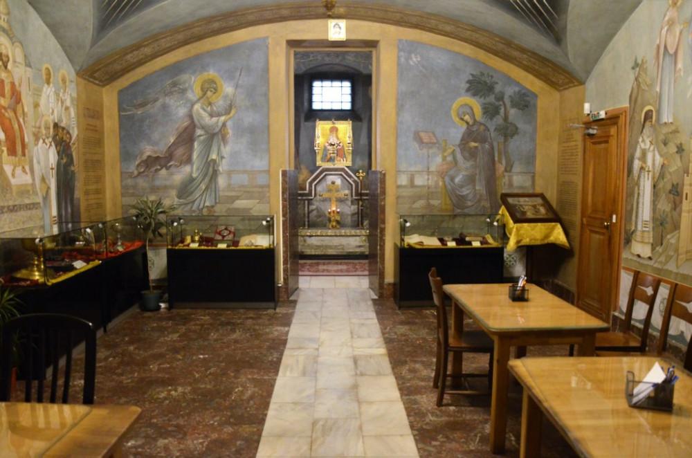 Крипта храма святителя Николая Мирликийского в Софии – Подворья Патриарха Московского и всея Руси