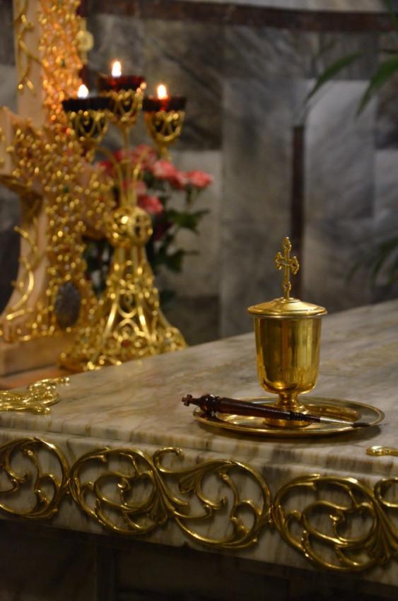 Надгробье святителя Серафима (Соболева)