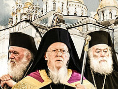 Patriarch Bartholomew reportedly planning to visit Ukraine with other primates who recognize schismatics