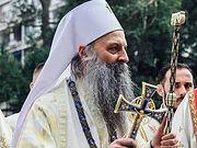Патриарх Сербский Порфирий встретился с настоятелем русского подворья в Белграде