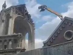 Κατεδαφίσθηκε στη γαλλική Λίλλη ρωμαιοκαθολικός ναός