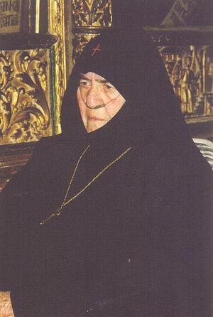 Матушка Харифея, игуменья монастыря Святого Ираклидия