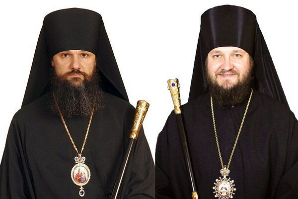Bp. Ignaty (Buzin) (left) and Bp. Ignaty (Tarasov) (righ). Photo: raskolam.net