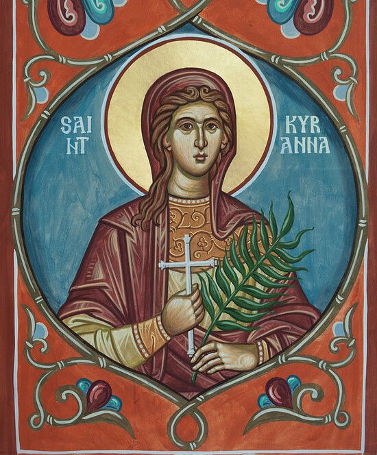 Святая Киранна, Невеста Господня