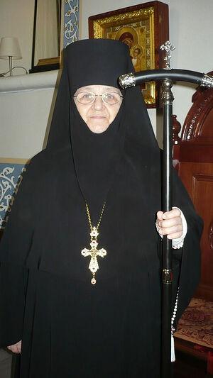 Abbess Moissea. Bright Week of 2016