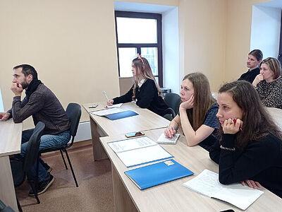 Рыбинской епархии проходят занятия Школы экскурсоводов
