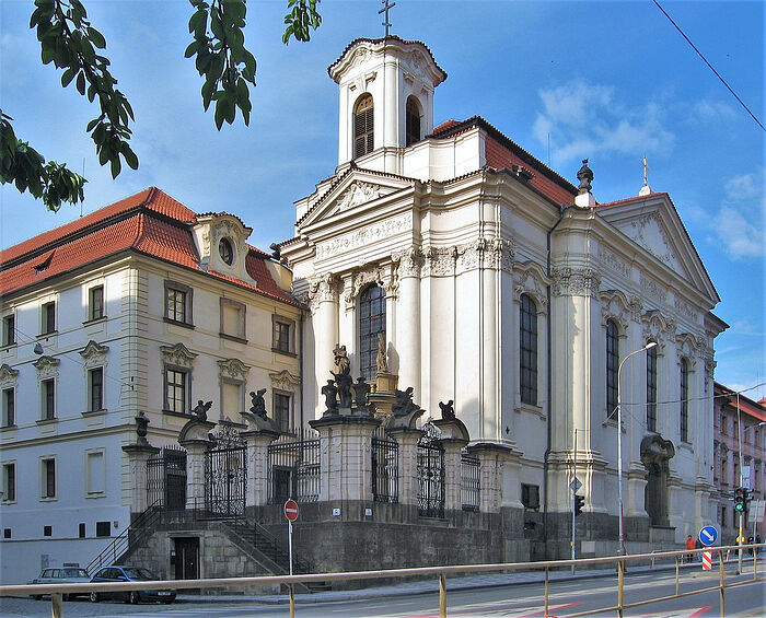 Cathedral of Sts. Cyril and Methodius in Prague