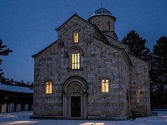 At Kosovo Monastery, Nationalist Clamor Disturbs the Peace