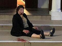 Elderly woman brutally beaten outside church in Australia, man with icon attacked in Greece, elderly man attacked in Ukraine