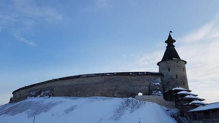 Псковский Кром. Фото Т. Сургановой. 10.03.2021 г.