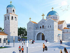Montenegro's largest church to be built in seaside town