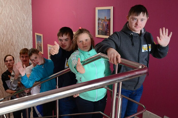 Участники первой смены детского пансиона в арт-поместье «Новые берега»