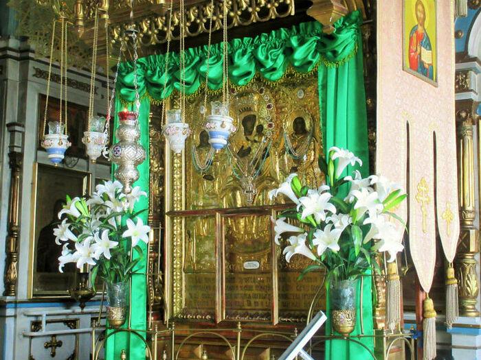 Кипрская икона Божией Матери в селе Стромынь Московской области