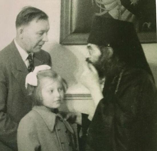 Little Olga with St. John of Shanghai