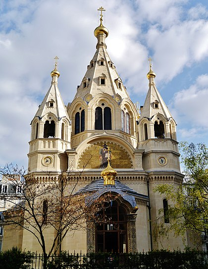 St. Alexander Nevsky Cathedral in Paris