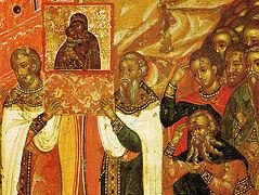 500 лет третьему спасению Москвы Владимирской иконой Богоматери по молитвам из Сретенского монастыря