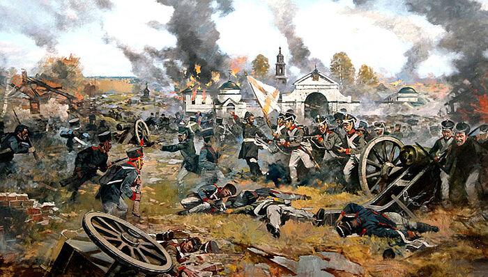 Μάχη τού Μαλογιαροσλάβετς. Όλεγκ Αβακιμιάν