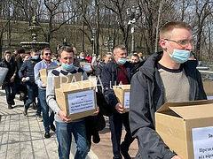 1 million+ Ukrainian faithful appeal to President to stop persecution of Church (+VIDEO)