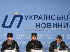 В Киеве состоялась пресс-конференция «Обращение верующих Украинской Православной Церкви к власти: дискриминационные законы и притеснения»
