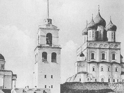 Продолжается комплексное исследование Троицкого собора Псковского кремля