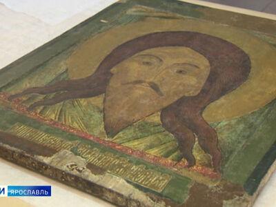 Икону «Спас Нерукотворный» передали в ярославский монастырь