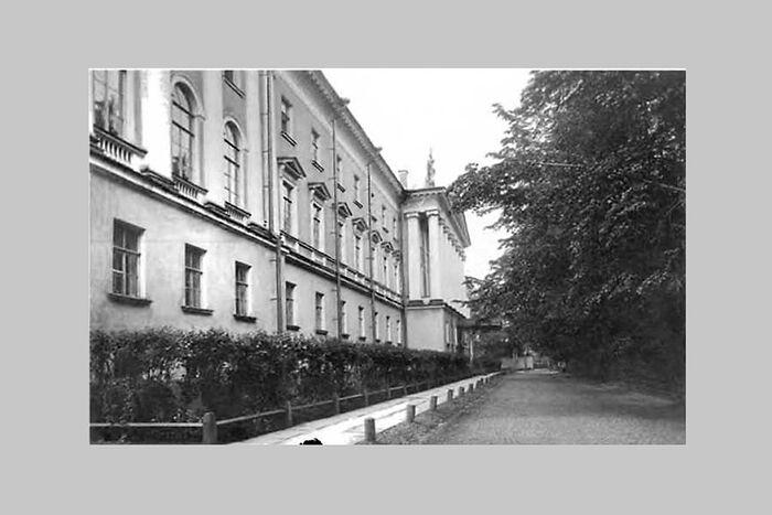 Санкт-Петербургская духовная академия, фото нач. XX века