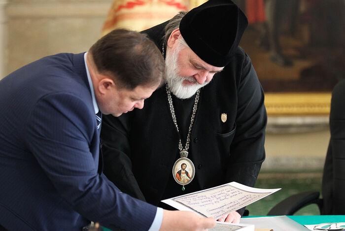 Фото: пресс-центр Александро-Невской лавры